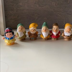 Little People Snow White + 5 Dwarfs